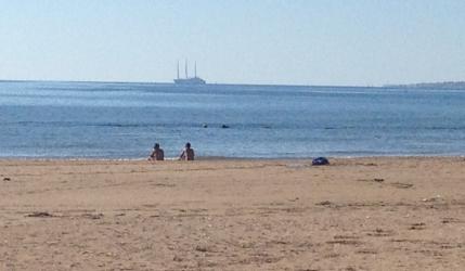 il mare di Donnalucata in Sicilia