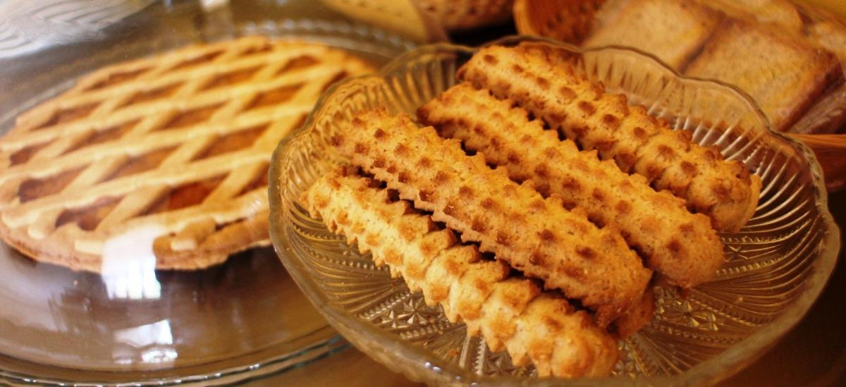 Biscotti locali per la colazione