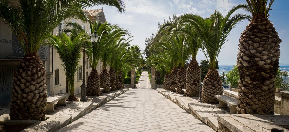 ingresso delll'Ottocentesca Villa Umberto