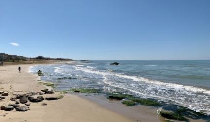 La spiaggia di Micenci è lunga 3 km