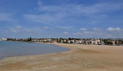 La spiaggia libera di levante