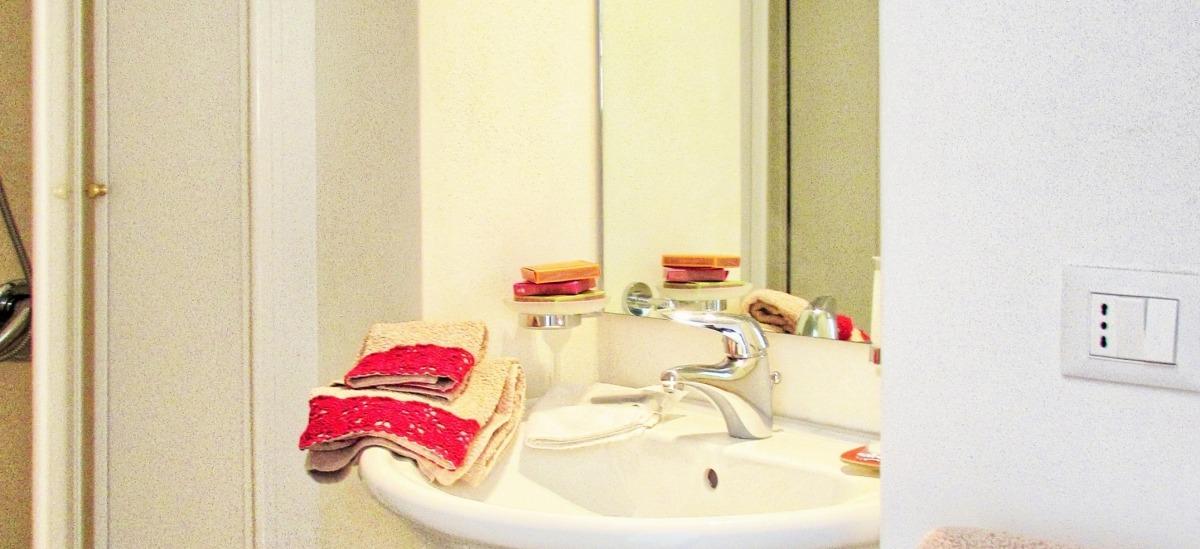 Bagno della suite la Rosa Barocca