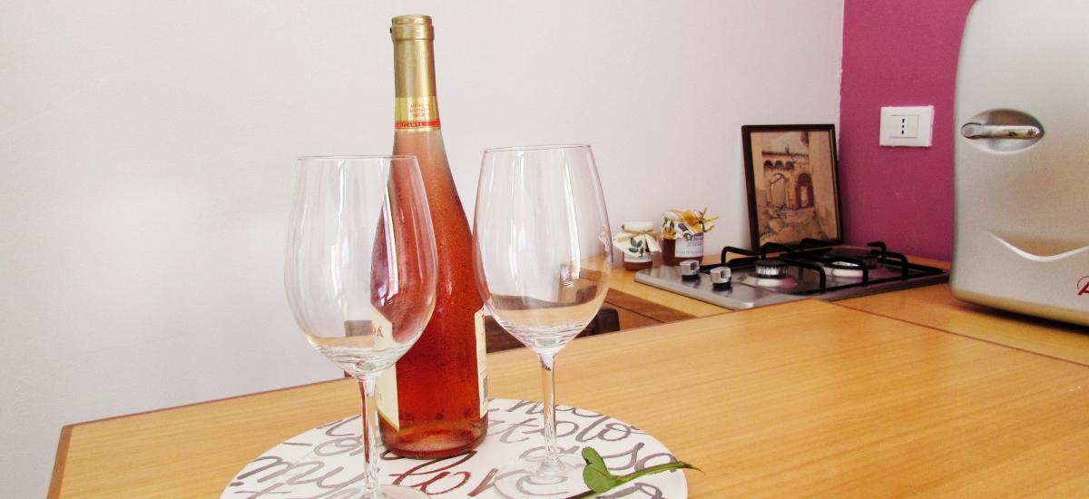 Il nostro benvenuto per gli ospiti / Our welcome for the guests