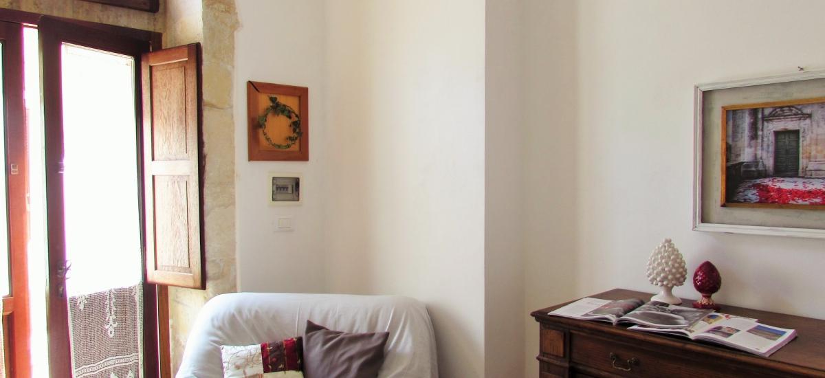 La zona giorno della suite / The day zone of the suite