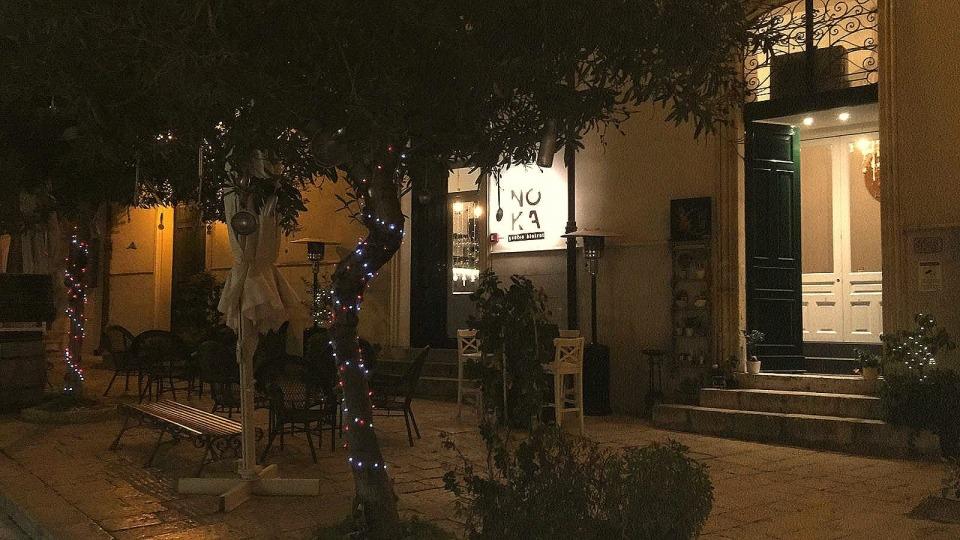 Noka, l'unico ristorante aperto a Scicli la sera del 24 dicembre