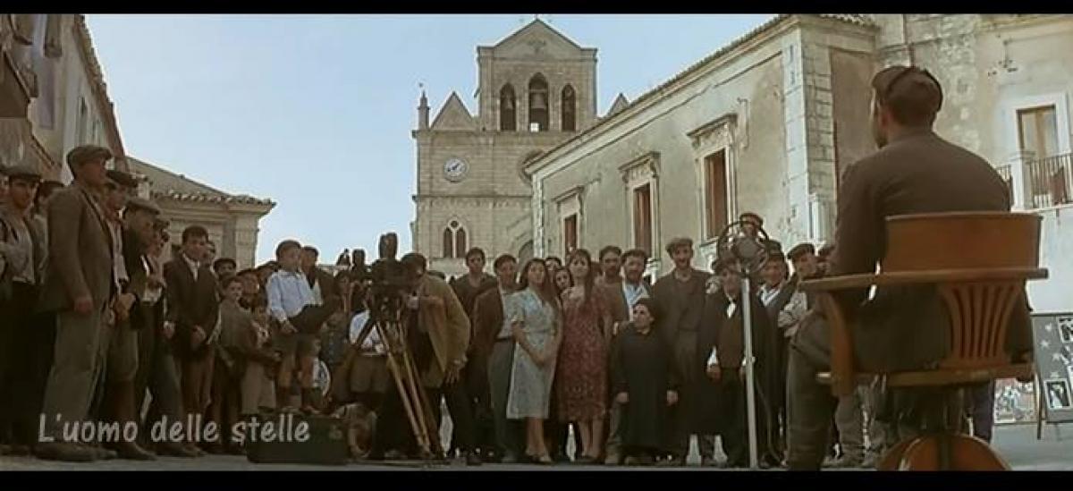 Dal Film L'uomo delle stelle di Giuseppe Tornatore